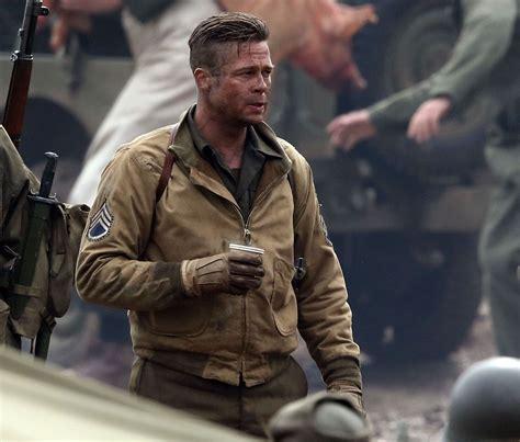 army haircut fury brad pitt fury 2014 ww2 jacket filmjackets com