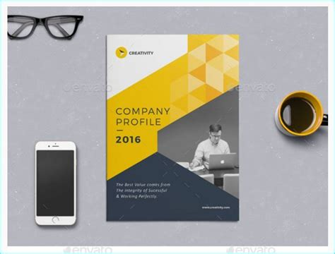 creative company profile layout 16 best 15 best indesign brochure templates for creative