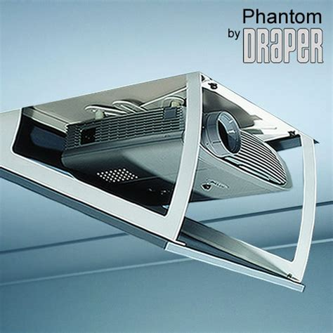 Ceiling Projector by Draper Phantom Lift Model B