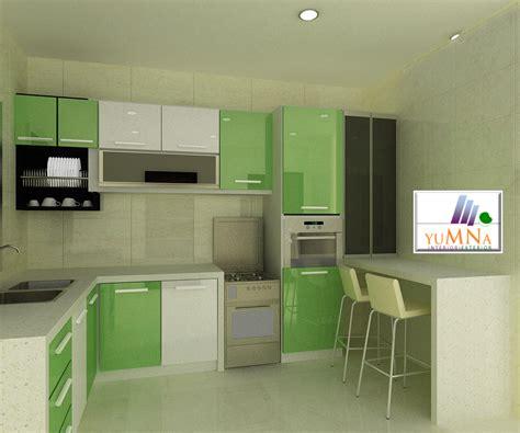 Kabinet Dapur 3d Glass Kabinet Dapur Yumna Kitchen Interior Renovation