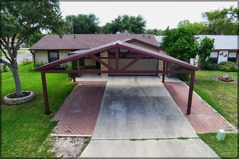 How To Build A Steel Carport With Your New Carport You Will Not To Scrape A