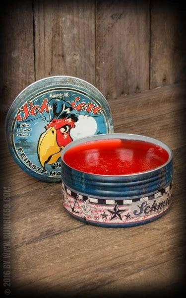 Rumble59 Schmiere Water Based Pomade Medium Hold rumble59 schmiere water based strong f 248 nix p 229 fisketorget