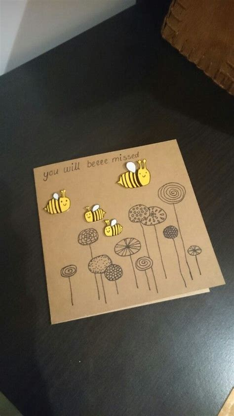 Handmade Farewell Gift Ideas - the 25 best farewell card ideas on goodbye