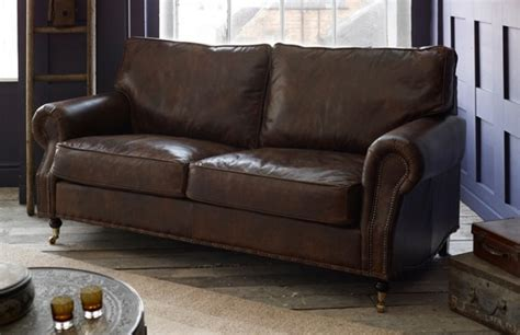 vintage leather sofa berkeley vintage leather sofa the chesterfield company