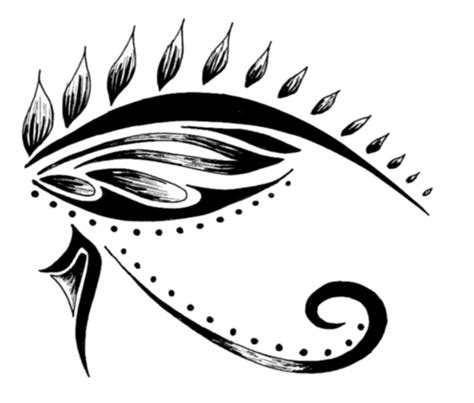 eye of horus tribal tattoo 10 tribal eye tattoos only tribal
