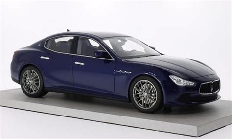 maserati model car maserati ghibli blue mcw diecast model car 1 18 buy sell
