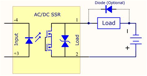 solid state relay wiring diagram light bulb relay