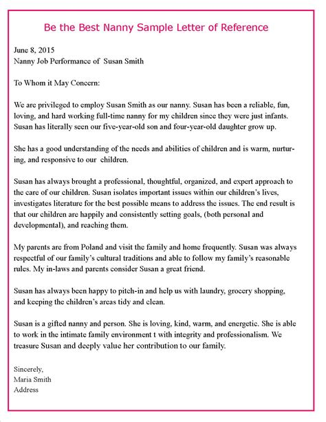 35 care giver cover letter caregiver reference letter reference