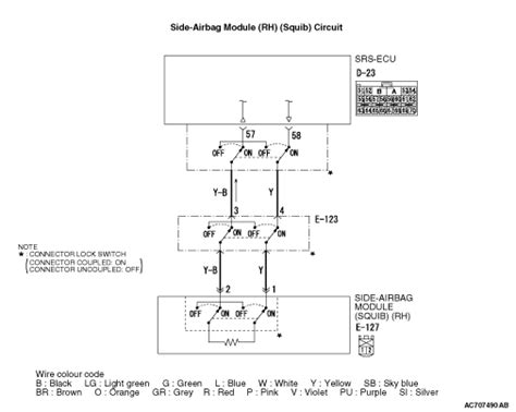 Code No B1421 Side Airbag Squib Rh Open Circuited
