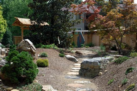 Panoramio Photo Of Asian Garden At The Unc Charlotte Uncc Botanical Gardens