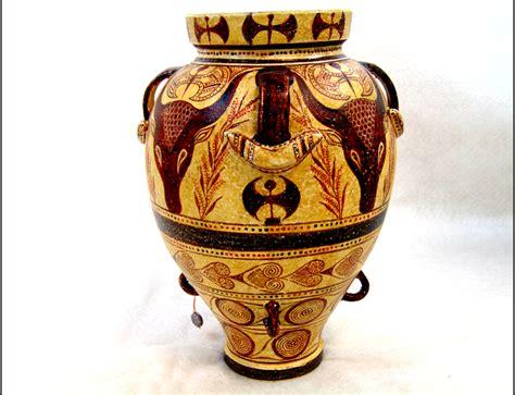 Minoan Vases by Pottery Minoan Pottery Cretan Pythos