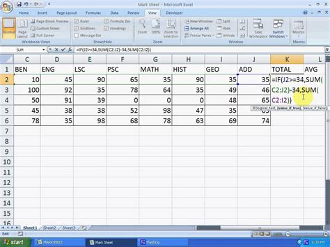 tutorial about excel formulas formula to calculate total in excel 2007 how to