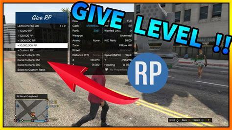 Mod Gta 5 Rp | gta 5 online mod menu give rp lvl to other players
