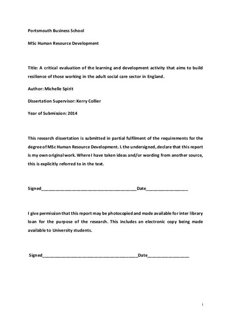 msc dissertation msc dissertation draft