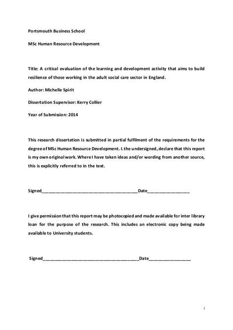 dissertation draft msc dissertation draft