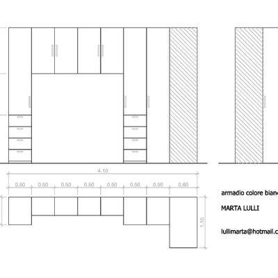 creare armadio creare armadio a ponte con angolo roma roma habitissimo