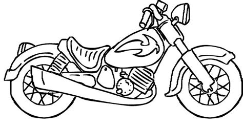 Drawn Motorcycle Coloring Pencil And In Color Drawn Motorcycle Coloring Motorcycle Coloring Pages