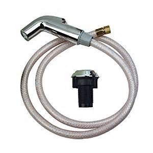 Delta Kitchen Faucet Hose Replacement Brasscraft Mfg Sfd1817 D Delta Faucet Sink Spray With
