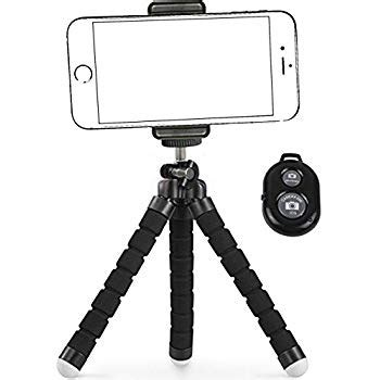 ailun cellphone tripod tripod mount stand phone holder small light for iphone x xs