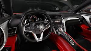 2015 Acura Nsx Interior Naias 2015 2016 Acura Nsx Revealed At Last