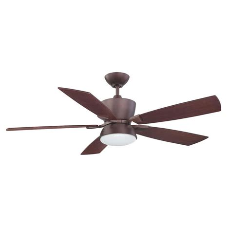 hunter ceiling fan oil hunter princeton 52 in indoor low profile noble bronze