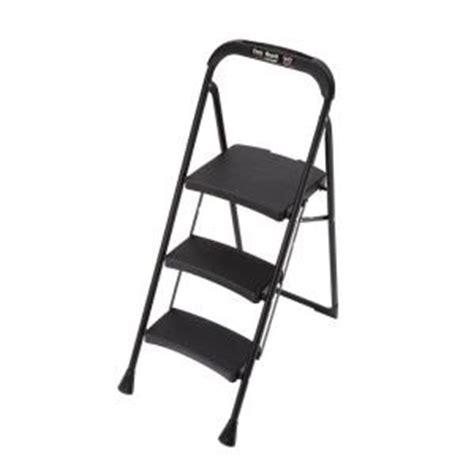 easy reach by gorilla ladders pro series 3 step steel step