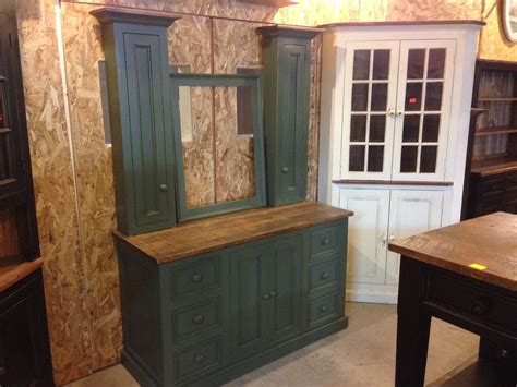 5 Foot Bathroom Vanity 5 Foot Bathroom Vanity In Country Green With House Blend Stain Top