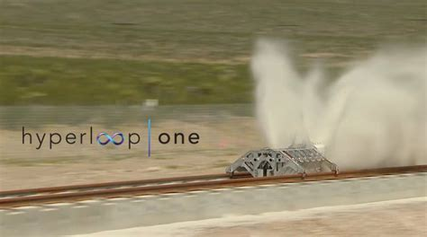elon musk hyperloop one hyperloop one first testing reaches 0 300mph in 2 seconds
