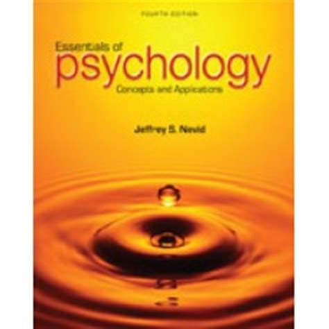 essentials of psychology concepts and applications test bank for essentials of psychology concepts and
