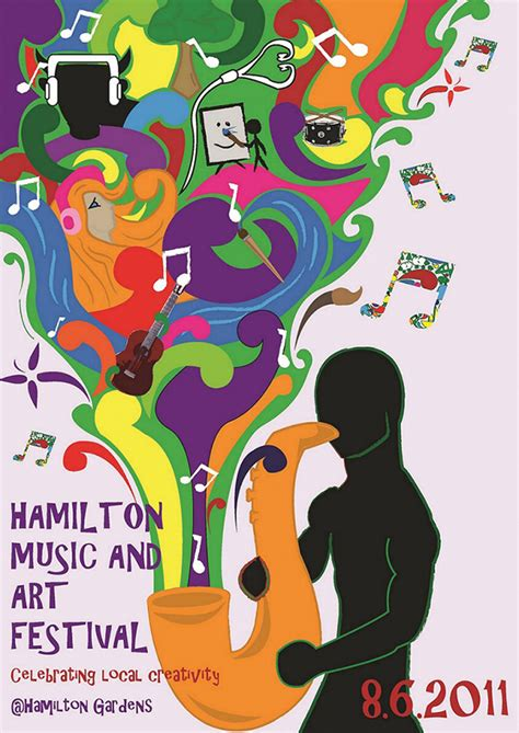 design poster art hamilton music arts poster design on behance