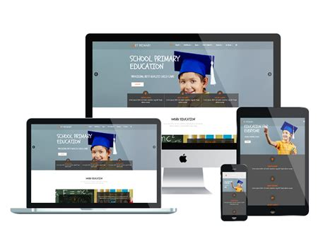What Is A Responsive Template by Et Primary Free Responsive Primary School Joomla Templates