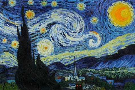 drakorindo gogh the starry night out of the shadows and into the starry night a cup of