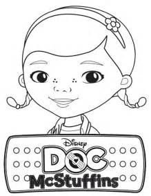 awesome doc mcstuffins coloring page netart