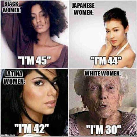 Asian Women Aging Meme - 来世 生まれる人種を選べるとしたら ガールズちゃんねる girls channel