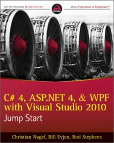new book quot parallel programming with microsoft visual c c 4 asp net 4 and wpf with visual studio 2010 jump