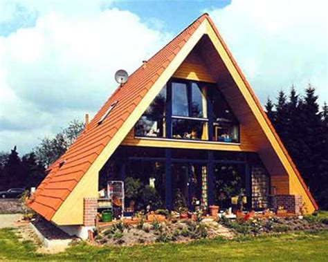 Triangle Shaped Roof Small House Designs With Gable Roofs And Triangular A