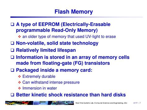 Ppt Flash Memory Powerpoint Presentation Id 2779151 Memory Ppt