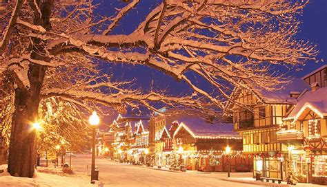 leavenworth christmas lighting festival day trip from