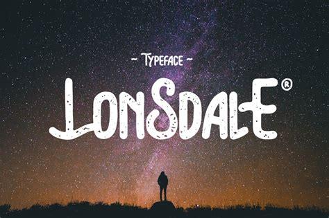 Lonsdale Content 2 lonsdale font kreativ font