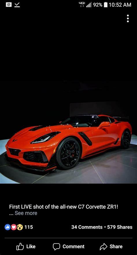 2019 Corvette Zr1 by The King Is Alive 2019 Corvette Zr1 Debuts In Dubai