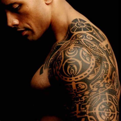 dwayne johnson tattoo date waterproof tattoo sticker wrestler dwayne johnson half a
