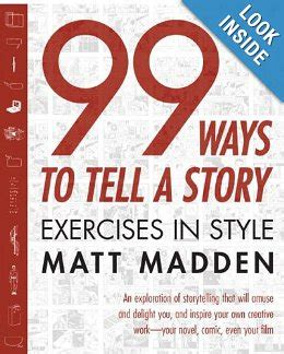 libros 99 ways to tell a story acordarme de
