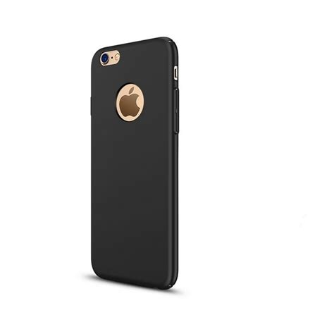 Casing Iphone 6 6 Plus Alex X4530 smooth frosted back protective for iphone 6 6s plus black alex nld