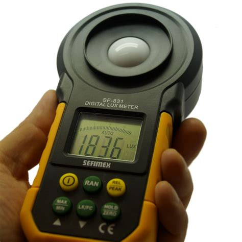 Light Level Meter light meter sf 831 sefimex quality tools and
