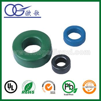 best inductor material toroid ferrite with different size and best price ferrite ring magnet buy toroid ferrite