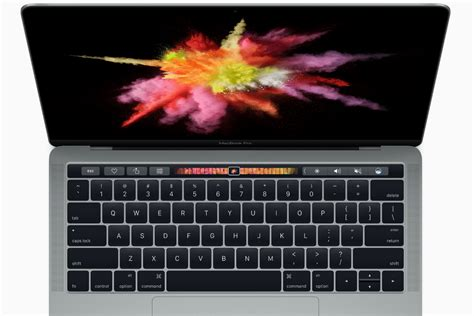 Macbook Pro With Touch Bar macbook pro 13 vs macbook pro 15 spec comparison