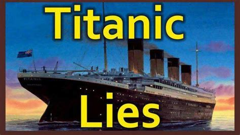 when did the titanic sink did the titanic really sink disclose tv