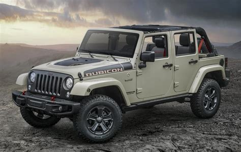Jeep Rubicon Jeep Wrangler Rubicon Recon Is Spec Ops Worthy