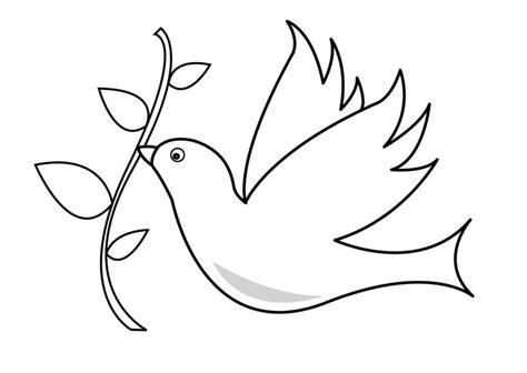 dibujos para colorear de la paloma del espiritu santo puzzle de rompecabezas de la paloma de la paz