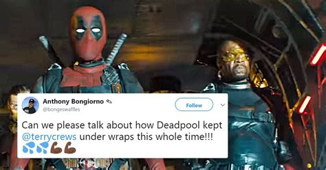 terry crews role in deadpool 2 deadpool 2 trailer reveals terry crews stars alongside